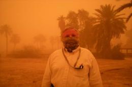 Anbar Province Dust Storm