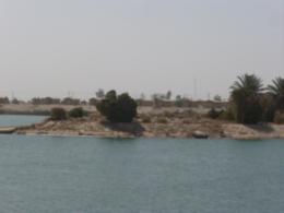 Remains of Uday's Lake Baharia palace