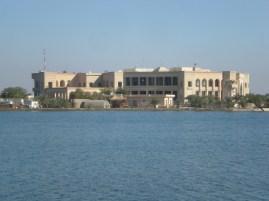 2010 Former Saddam Hussein's Al-Faw Palace turned into U.S. Forces Iraq HQ